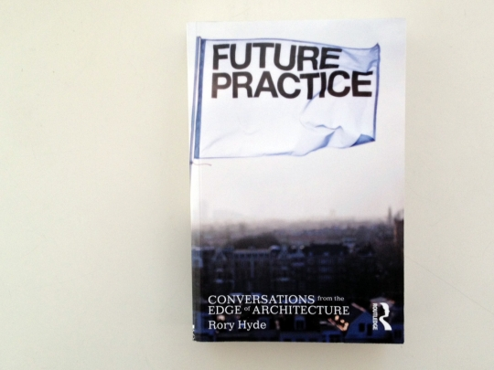 "Rory Hyde has written <a href=""http://www.amazon.co.uk/Future-Practice-Conversations-Edge-Architecture/dp/0415533546"">a book about future trajectories for architecture and design practice</a>. Dan wrote the forward and I'm one of the subjects, so we're happy to have Rory in town for <a href=""http://www.facebook.com/events/460090010679836/"">a book launch/talk at the Paviljonki tomorrow</a>, Tuesday the 11th at noon."