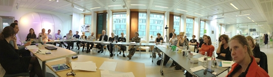 A quick panorama from the session at MindLab