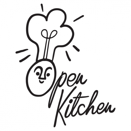 "Open Kitchen also has a new logo courtesy of <a href=""http://www.pekkafinland.fi/sannamander"">Sanna Mander</a>!"
