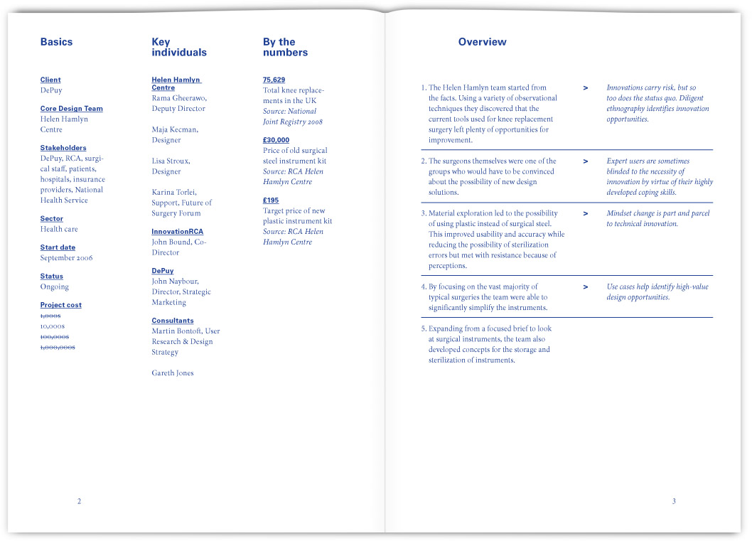 The gallery for table of contents design examples for Table of contents design