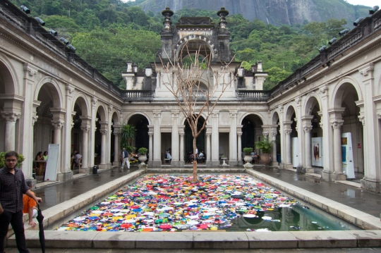 The photos in this post are snapshots from Rio, where I was giving a talk at the Creativity World Biennale...