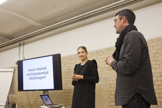Tuuli Kaskinen of Demos Helsinki talking about food sustainability.