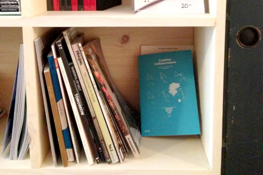 """On my way to Bangkok I made a quick stop in San Francisco, where I spotted our <a href=""""/cc/"""">Creative Collaborations</a> book on the shelves at <a href=""""http://www.makeshiftsociety.com"""">Makeshift Society</a>. Great!"""