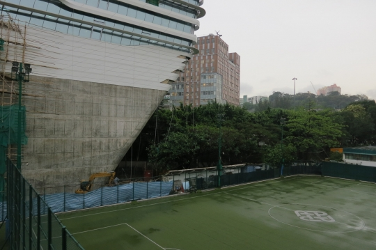HKPU's new School of Design building is almost ready. And it's massive!