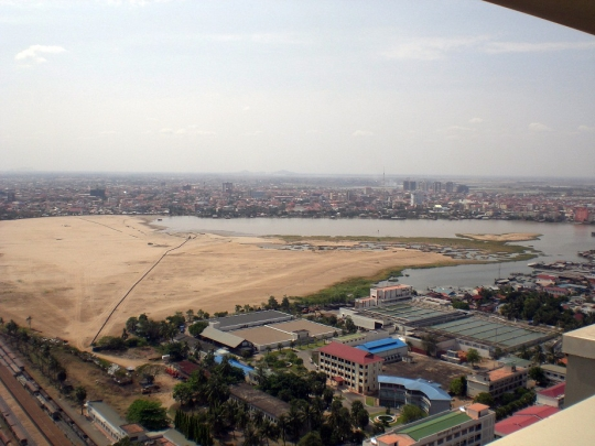 Boeung Kak lake as of March 2010. 