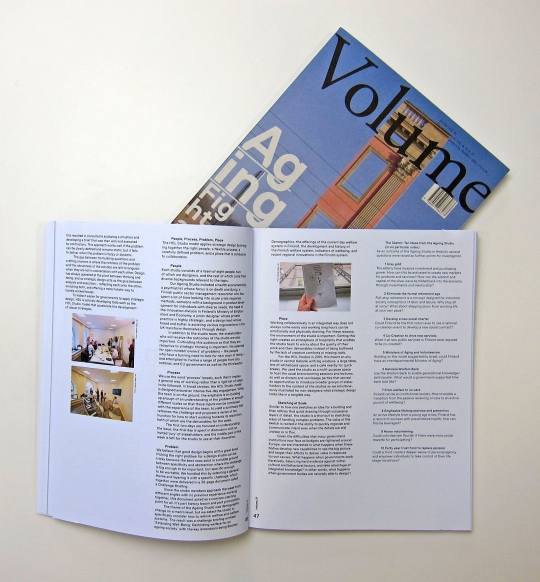 "VOLUME #27:Ageing. Get your copy <a href=""http://bruil.info/magazine-volume-2011-1-27-aging"">here</a>."