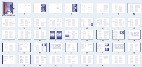Draft book spreads. These are only a few days old and yet already things look much different.