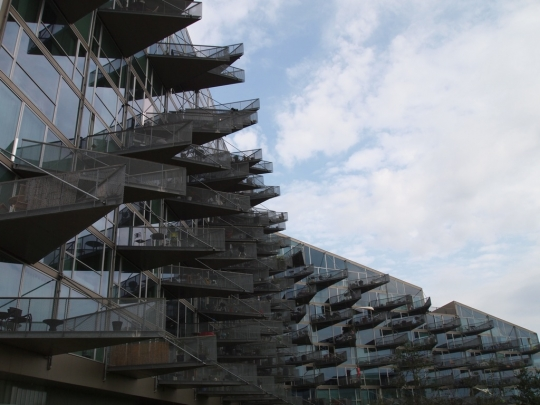 VM Buildings, by Bjarke Ingels Group, Ørestad.
