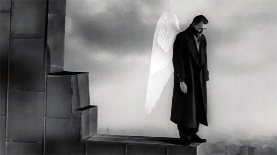 Any mention of Berlin necessitates a still from Wings of Desire