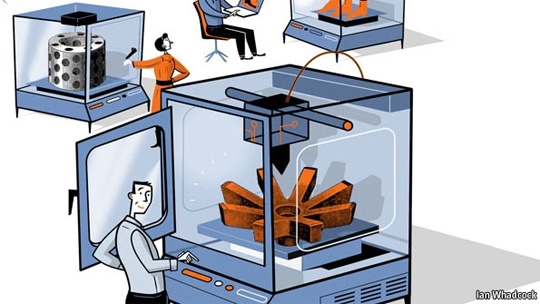 Illustration from The Economist's special report on manufacturing.